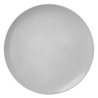 Grainy Gray Artsy Background Party Plate