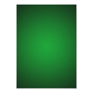 Grainy Green-Black Vignette 5x7 Paper Invitation Card