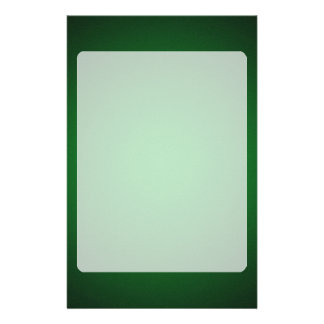 Grainy Green-Black Vignette Stationery