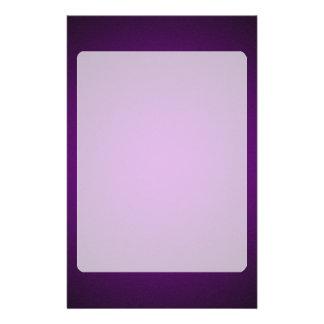Grainy Purple-Black Vignette Stationery