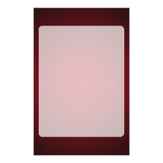 Grainy Red-Black Vignette Stationery