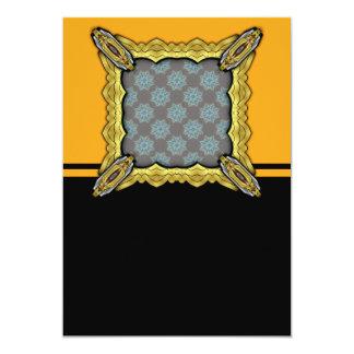 Grainy Suns Inverted 5x7 Paper Invitation Card