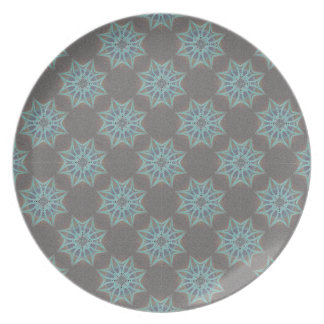 Grainy Suns Inverted Party Plate