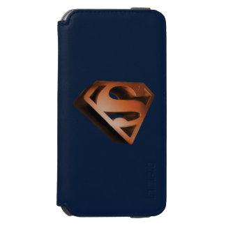 Grainy Superman Logo Incipio Watson™ iPhone 6 Wallet Case