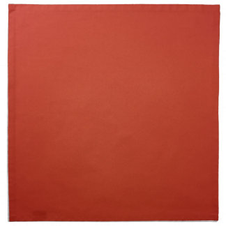 Grainy Warm Red Background Napkin