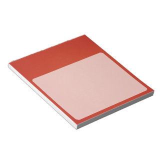 Grainy Warm Red Background Note Pad