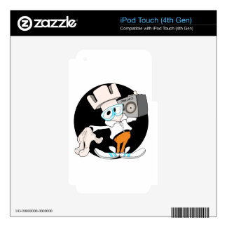 grajo bboy iPod touch 4G skin