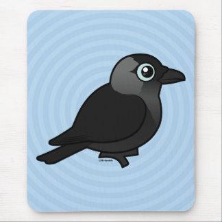 Grajo de Birdorable Tapete De Ratón