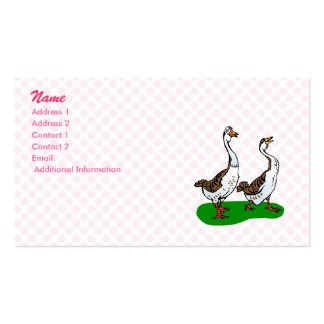 Gram and Graham Goose Business Card