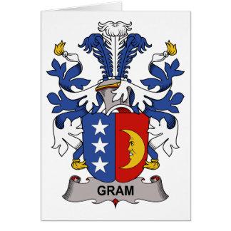 Gram Family Crest Card