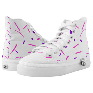 Gram Stain High-Top Sneakers
