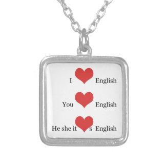Gramática del collar EFL TESOL del regalo del