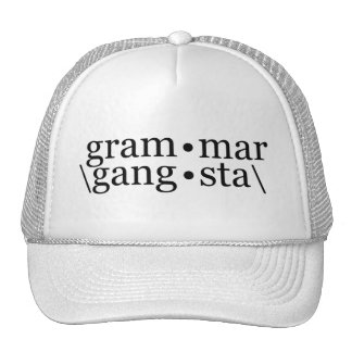 Gramática Gangsta Gorras