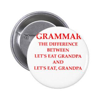 gramática pins