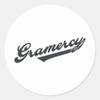 Gramercy Classic Round Sticker