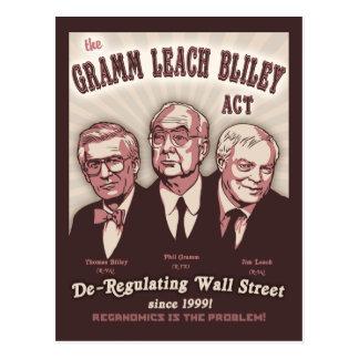 Gramm Leach Bliley Act Postcard