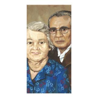 Gramma and Grandpa Apilado Card