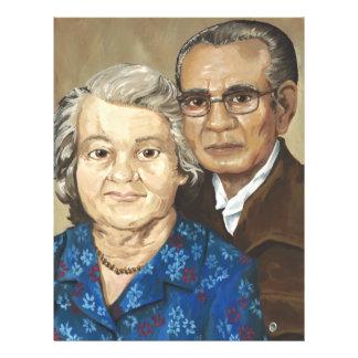 Gramma and Grandpa Apilado Flyer