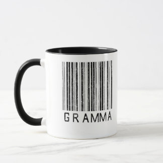 Gramma Barcode Mug