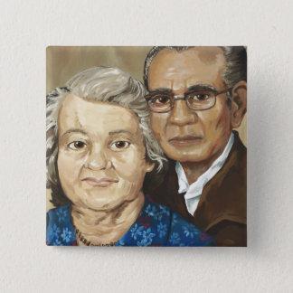Gramma & Grandpa Apilado Button