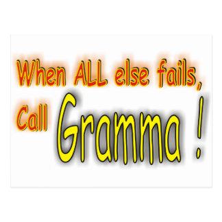 Gramma Postcard