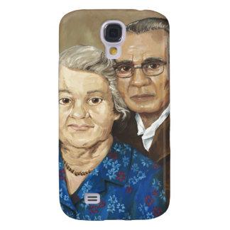 Gramma y abuelo Apilado Samsung Galaxy S4 Cover