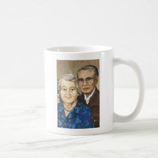 Gramma y abuelo Apilado Tazas