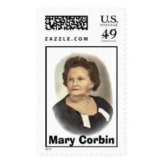 GrammaCorbin_edited-1, Mary Corbin Postage
