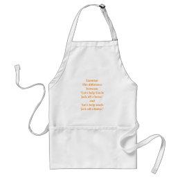 grammar adult apron