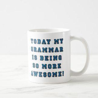 Grammar Being More Awesome Funny Mug