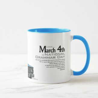 Grammar Day Mug