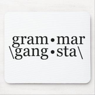 Grammar Gangsta Mouse Pad
