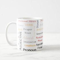 Grammar Geek 11 oz White Mug