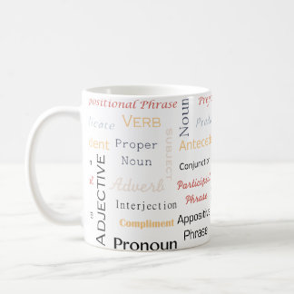 Grammar Geek 11 oz White Mug