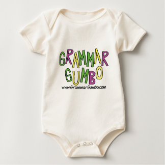 Grammar Gumbo Baby Bodysuit
