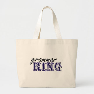 Grammar King Canvas Bag