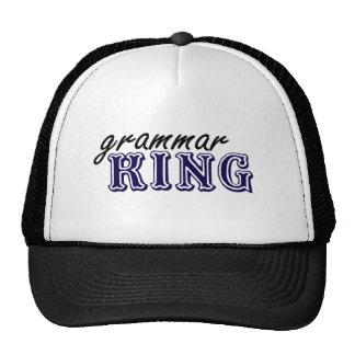 Grammar King Trucker Hat