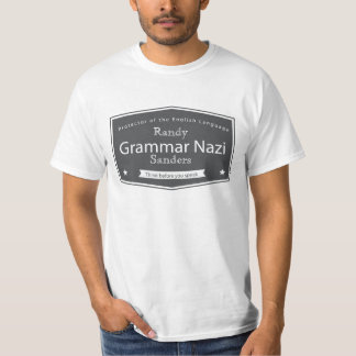 Grammar Nazi Add Your Name Tees
