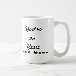 Grammar Nazi Coffee Mug