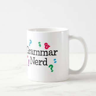 Grammar Nerd Coffee Mug