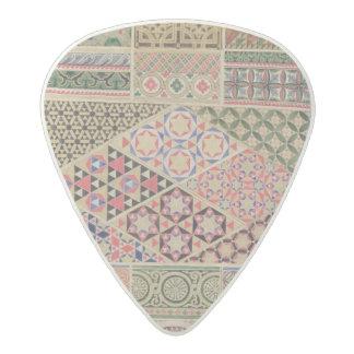 'Grammar of Ornament', chapter VII, plate XXX: Byz Acetal Guitar Pick
