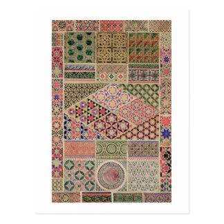 'Grammar of Ornament', chapter VII, plate XXX: Byz Postcard