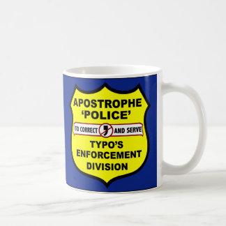 Grammar Police Apostrophe Mug