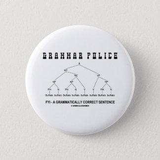 Grammar Police (Buffalo 8 Times Correct Sentence) Button