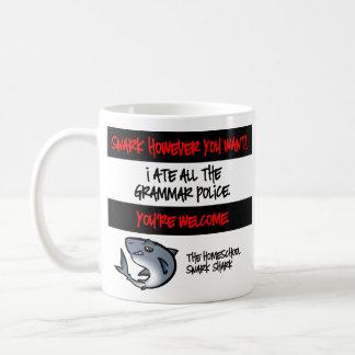 Grammar Police Classic White Coffee Mug