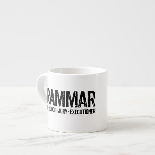 Grammar Police Coffee Mug Espresso Mug Gifts 6 Oz Ceramic