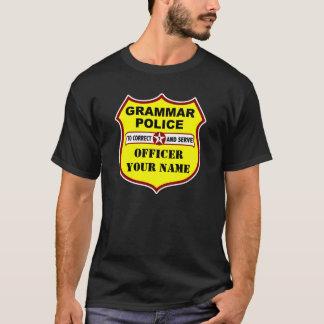 Grammar Police Dark Tee