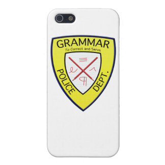 Grammar Police Department iPhone case