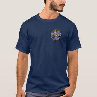 Grammar Police Dept Badge Pencil Eraser T-Shirt