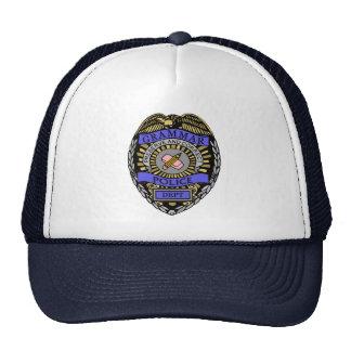 Grammar Police Dept Badge Pencil Eraser Trucker Hat